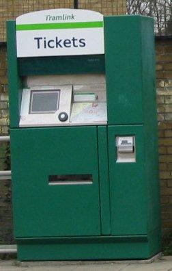 lul ticket machine